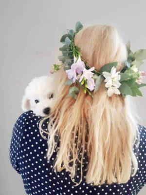 Lillepärja meisterdamine
