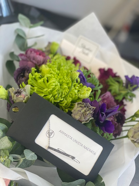 Lillekimp ja kingitus