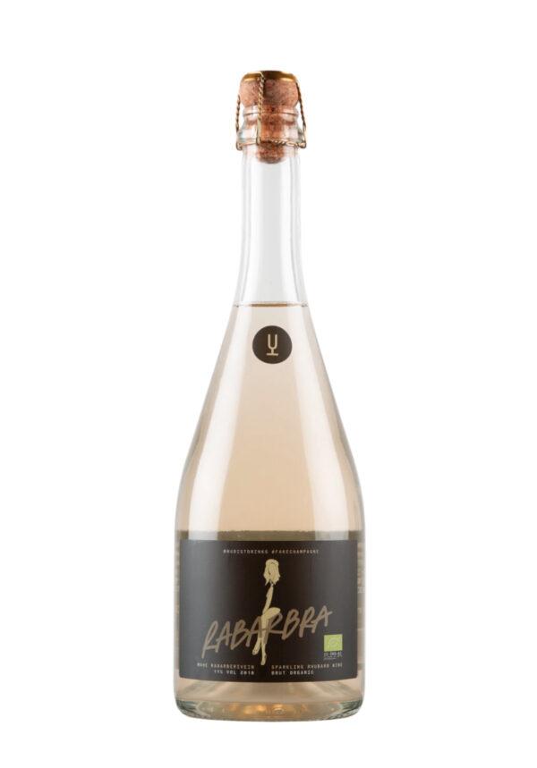 Rabarbra: Rhubarb Sparkling Wine