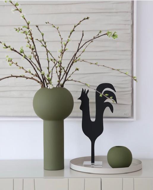 Cooee Pillar vaas Olive