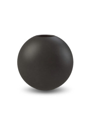 Cooee black ball vase