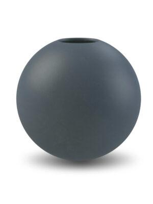 Cooee Ball vase Midnight Mud