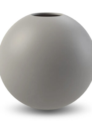 Cooee gray ball vase